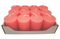 Adventi gyertya 12 db/cs - Rózsaszín