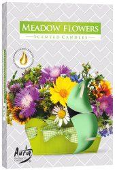 Illatos teamécses 6 db/cs - Mezei virágok