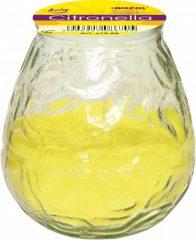 Citronellás gyertya üvegben